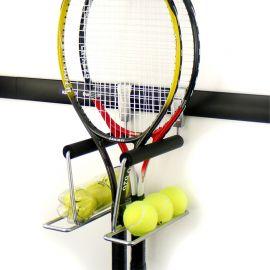Držák tenisových raket