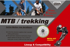 Lineup and Compatibility Microshift MTB Components 2015/16